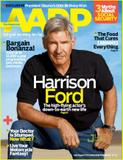 Harrison Ford AARP July August 2011