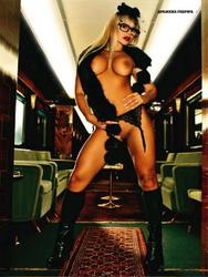 Дражена Габрик, фото 11. Drazena Gabric for Playboy Serbia December 2010, photo 11