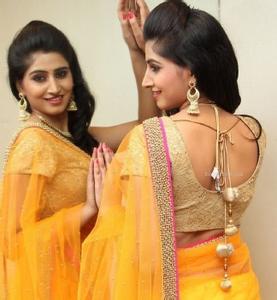 sexy saree back girl