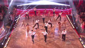 Cheryl Burke, Chelsie Hightower and company..