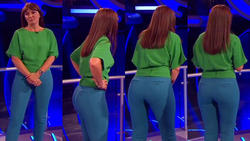 Davina McCall - Ass in tight trousers - Million Pound Drop - 12-07-13 & 28-06-13
