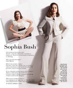 Sophia Bush as Lauren Bacall for Genlux magazine - Spring 2011 X 3MQ's