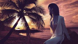 Rihanna   Deep Cleavage   1x   Wallpaper