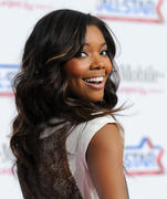 Gabrielle Union @ 2011 NBA All-Star Game at the Staples Center 20-02-2011